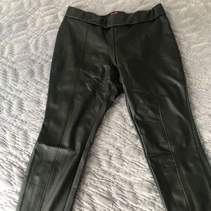 Catherine malendrino faux leather leggings  xl